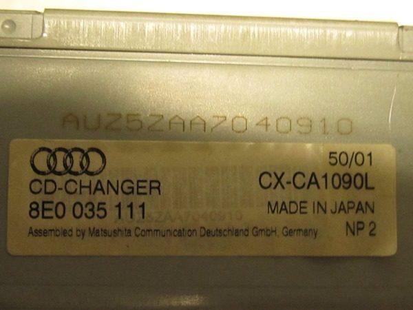 Cambiador De Discos Compactos (cd) Audi A4 8e0035111-441