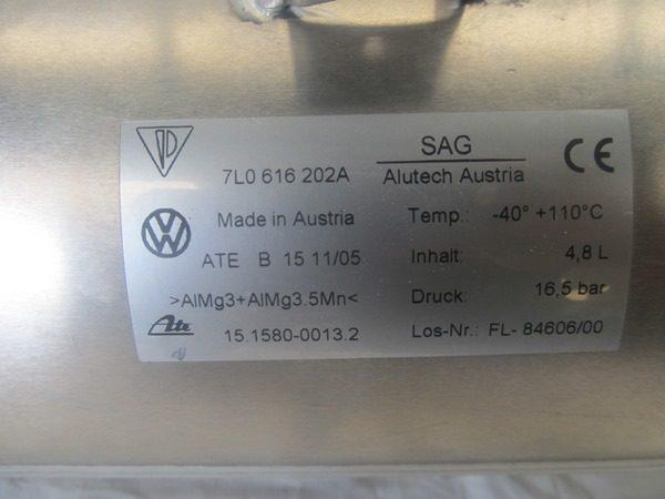 Acumulador Suspensión Neumática Porsche Cayenne 7L0616202A-760