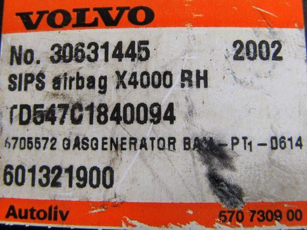Bolsa de Aire (Airbag) Asiento Der Volvo S40 V40 No OEM 30631445-7702