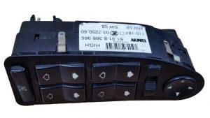 Control de Ventanas y Espejos BMW E39 E38 No OEM 61318368985-0