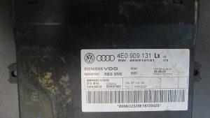 Modulo de Control de Alarma Audi OEM No 4E0909131L-0
