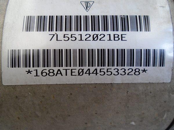 Amortiguador Izquierdo Trasera con Bolsa Porsche Cayenne OEM NO 7l5512021-8184