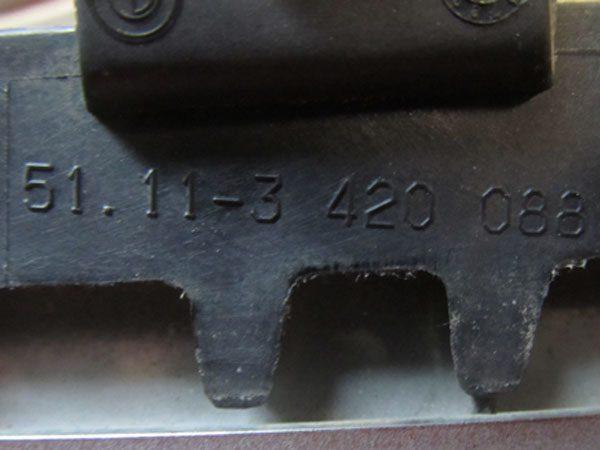 Rejilla de Adorno Delantera Derecha BMW E83 LCI OEM NO 51113420088-8703