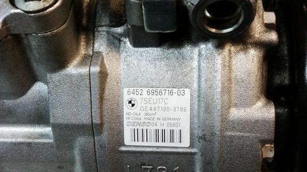 Compresor de Aire Acondicionado BMW E87 E88 E82 E90 E91 E92 E93 No OEM 64526956716-9960