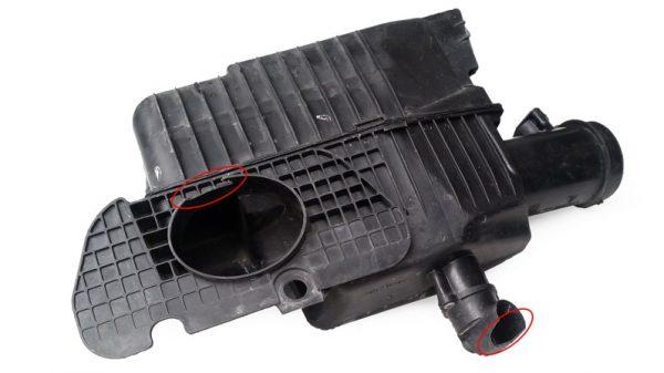 Base del Filtro de Aire Porsche Boxster No OEM 99611002110-0